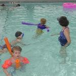 My Kids in the pool