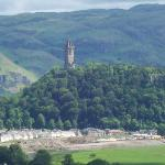 The Wallace Monument from Sterling Castle