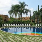 The pool at Mision del Sol