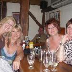 The gals celebrating at the Inn