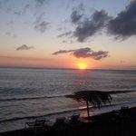 Sunset in St. Kitts