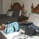 bedroom of suite 4