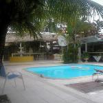 la piscina es fenomenal, para las tardes