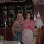 Myself and the wonderful proprietress Debbie