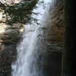 A view of the upper falls
