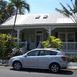 front of the B&B