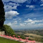 Wohl das herrlichste Panorama der Toscana