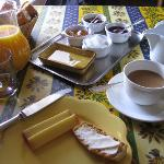 Daily breakfast