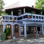 Restaurant in front of Hotel Petit Piaf on Skandarska Street