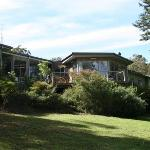 Gipsy Point Lodge from the gardens