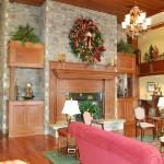 Inn at Christmas Place lobby