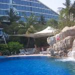 Side of general pool