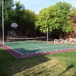 Sport court at the Residence Inn Santa Fe