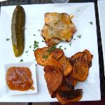 Pork Tenderloin with apple chutney