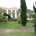 Gardens and rooms at the quinta
