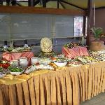 A small part of the buffet for the Crete Evening
