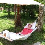 Restful hammock to unwind