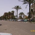 a view of port said street