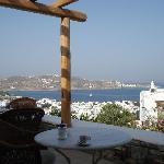 Enjoyed breakfast on the breathtaking terrace view