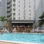 Pool view / Hotel Pool Bar