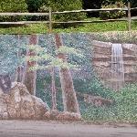 Wall Painting at Resort