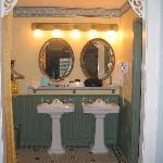 The Bathroom area