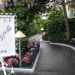 Entrance to Hotel 'A Paziella on Capri