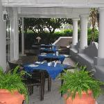Breakfast terrace - Hotel 'A Paziella on Capri