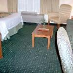 Hotel room I (panoramic) - view you see upon entering the room