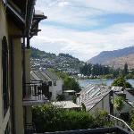 View of Queenstown from St. Moritz hotel