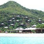 Resort from water taxi