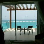Our balcony-Room 624