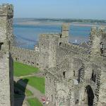 The castle is THE reason you come to Caernarfon!