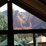 view from breakfast room
