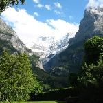 the eiger from out room