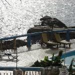 View of pool & ocean from room