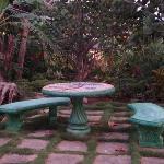 Cute garden spot
