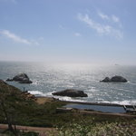 Seal Rocks? at Lands End