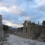 Ephesus sunset