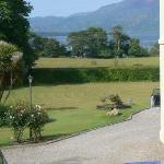 view from the carriage house, Carriglea House, Killarney
