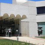 Entrance to the Fundacio Miro