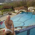 Joe at Infinity Edge of Lap Pool