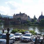 Hotel across river