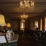 Grandhotel Giessbach reception area