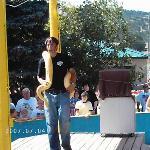 snake charmer - Reptile gardens