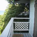 Upper deck view to STT