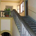 Final flight of stairs to Pensione