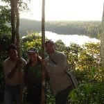 mirador de Chalalan en haut du lagon