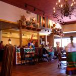 Inside dining at Casa de Pico