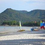 Beach outside Chaweng Resort